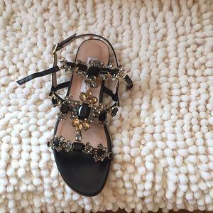 Sentell With Sandals Rhinestones Poshmark Valentina ShoesBlack qGUpSzMV